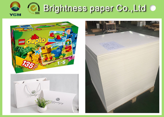 China High End Printing / Pacaking Ivory Board Paper 190gsm ~ 400gsm Antistatic distributor