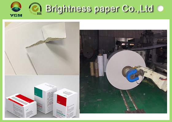 Antistatic C2s White Back Duplex Board 350gsm Paper For Clothes Label