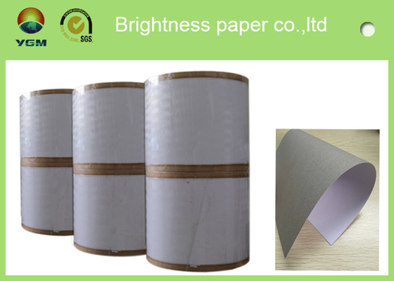 China Thick One Side Coated Board Paper White Regular Size 700 X 1000mm distributor