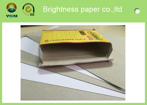 China Two Sides Coated Printing Paper Board For Shopping Bag High Brightness distributor