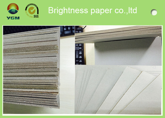 China Full Gsm Grey Chipboard Sheets For Crafting Good Thickness Mixed Pulp Style distributor
