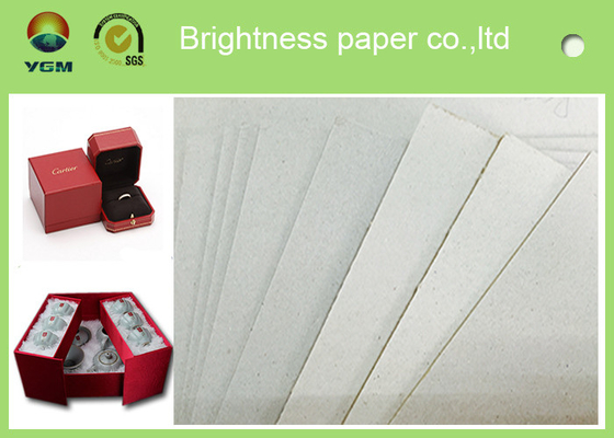 Strong Stiffiness Grey Chipboard Paper For Notebook Packaging 1250gsm / 2.04mm