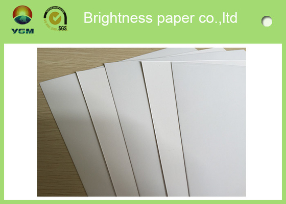 Customized C1s White Ivory Ivory Board Paper For Printing Box / Fbb Board