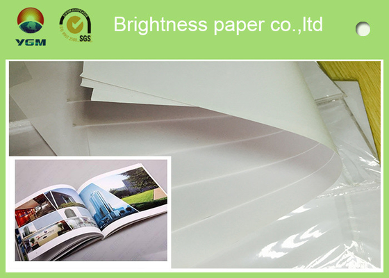 China Custom Offset Printing Paper For Magazine And Textbooks 100% Wood Pulp Material distributor