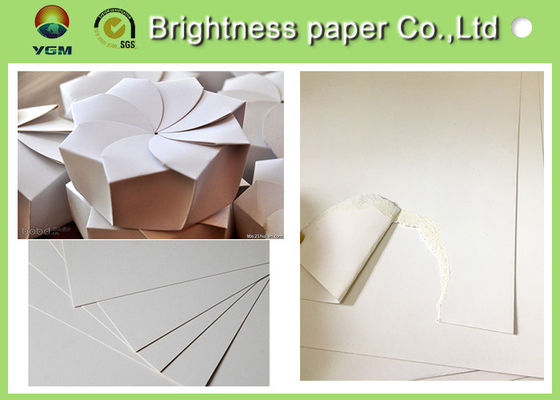 High End Packaging Paper Folding Box Board Two Side White Good Printing Effect