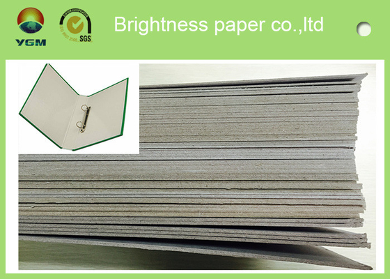 China 300gsm - 3000gsm Light Grey Cardstock , Solid Laminated Grey Board Paper distributor