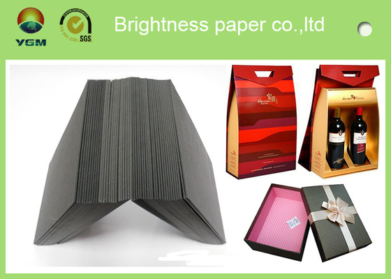 China Standard Size Two Side Grey Chipboard Paper Gray Paperboard For Making Gift Box distributor