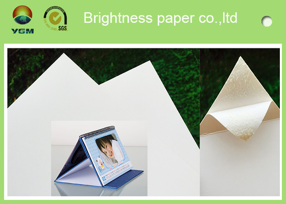 100% Virgin Wood Pulp Glossy Printing Paper White Art Cardboard Eco Friendly