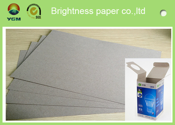Strong Stifness Clay Coated Paperboard Sheets , Duplex Paper Board For Making Box