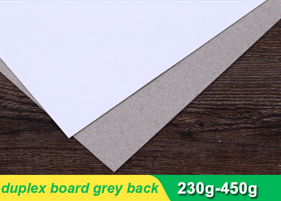 250gsm Duplex Paper Board Sheets For Printing Industry 787 * 1092mm
