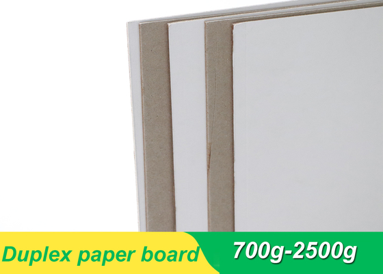 Duplex board paper laminated with grey board 700gsm 1mm